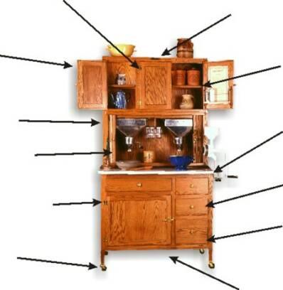 Hoosier Cabinet Features Michigan Hoosier Company